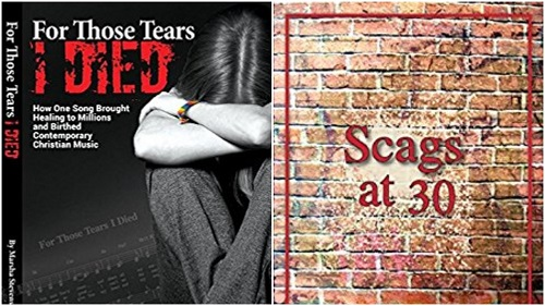 "LGBTQ Christian books ""For Those Tears I Died"" and ""Scags at 30"""