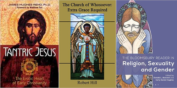 LGBTQ Christian book covers Tantric Jesus, Church of Whosoever, Bloomsbury Reader