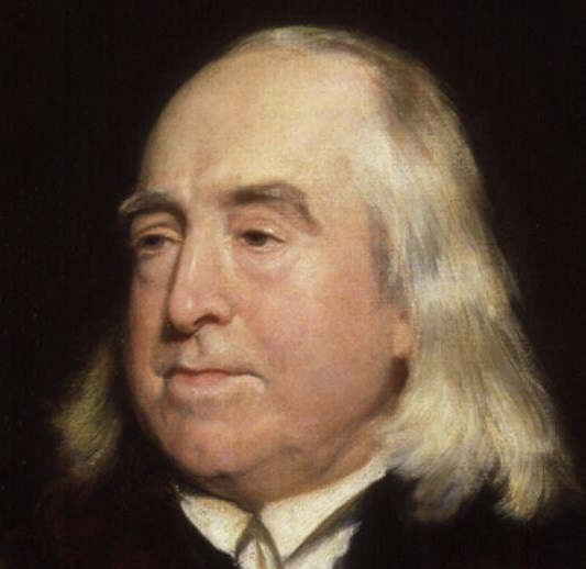 Jeremy Bentham portrait by Henry William Pickersgill
