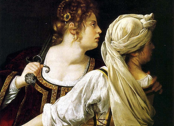"""Judith and Her Maidservant"" by Artemisia Gentileschi"