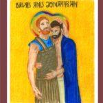 """""""David and Jonathan"""" by Katy Miles-Wallace"""
