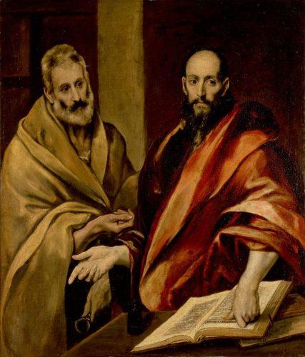Santos Pedro y Pablo de El Greco