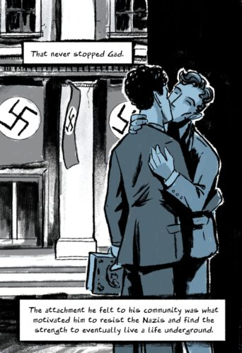 """""""The Life of Gad Beck: Gay. Jewish. Nazi Fighter."""" by Dorian Alexander and Levi Hastings"""